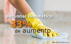 33% de aumento para el personal doméstico desde junio | Cotización Dólar