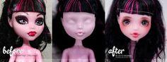 Custom Monster High Catrine by AndrejA on deviantART