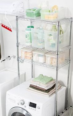 Shelving Unit Over Washer Dryer   Google Search