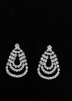 Bridesmaid Jewelry - Wedding Earrings Style 1500-6