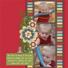 Layout idea -- {I think I will make it with 2 rows of 3 pics. SP}