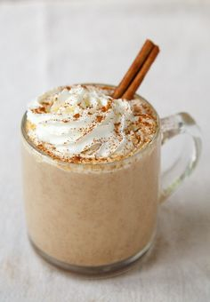 Homemade Pumpkin Spice Latte @dessertfortwo