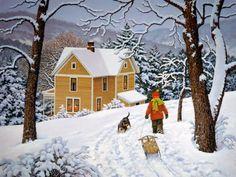 Heading Home by John Sloane