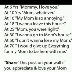 Mom I love you more than words could ever express. Ronald Love and miss you mom, I Miss My Mom, I Love You Mom, Just For You, My Love, Mom Quotes, Family Quotes, Quotes To Live By, Funny Quotes, Life Quotes