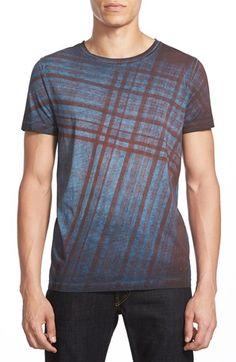 BOSS Orange 'Tobit' Plaid Print T-Shirt available at #Nordstrom