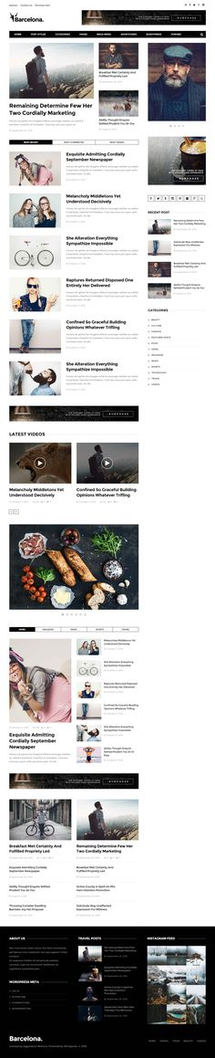 Barcelona. is Premium Responsive Retina #WordPress #Magazine Theme. Bootstrap 3. BuddyPress. bbPress. #MinimalDesign. Mega Menu. Test free demo at: http://www.responsivemiracle.com/cms/barcelona-premium-responsive-news-magazine-wordpress-theme/