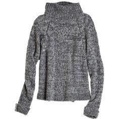 CALYPSO St. Barth Zuvia Marled Turtleneck Sweater found on Polyvore