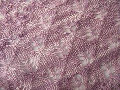 Buddleia Shawl knitting pattern by Littletheorem on Ravelry.