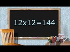Multiplying by 12. 2nd + 3rd Grade. FLASHCARDS.