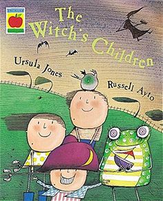 The Witch's Children: Ursula Jones, Russell Ayto: 9781841211145: Amazon.com: Books