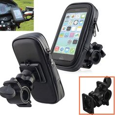 Motorcycle Bike Bicycle Waterproof Phone GPS Case Bag Handlebar Mount Holder Stand Bag for iphone 7 6 6s Plus 5 5s * Click the VISIT button to view the details on AliExpress website
