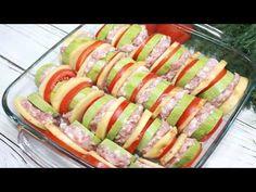 2 cukety, trochu mletého mäsa, zemiaky a šťastná celá rodina: Raz ochutnáte a v lete si na vyprážané fašírky si už nespomeniete! Kefir, Hot Dog Buns, Zucchini, Sushi, Mozzarella, Food And Drink, Healthy Recipes, Healthy Food, Bread