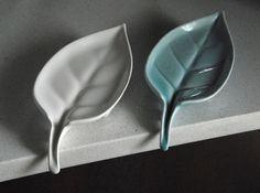 Leaf: Self-Draining Soap Dish 3d printed