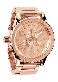 NIXON – THE 51-30 CHRONO WATCH – ROSE GOLD