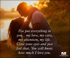 Share these super romantic love messages with your sweetheart, and make 'em feel special. Here's a list of 49 mushy romantic love messages just for you! Romantic Quotes For Girlfriend, Love My Husband Quotes, Flirty Quotes For Him, Simple Love Quotes, I Love You Quotes, Love Yourself Quotes, Love Poems, Love Messages For Wife, Love Messages For Her
