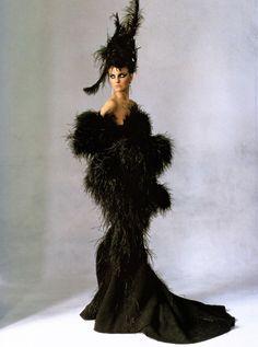 Caroline Trentini by Irving Penn for Vogue US
