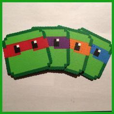 Teenage Mutant Ninja Turtles Coasters (Set of 4)