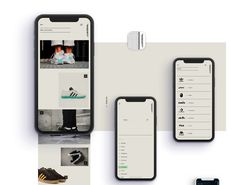 gui design Sleek and Minimalist App Design Concept for Shoeciety Responsive Web Design, App Ui Design, Mobile App Design, User Interface Design, Mobile Ui, Design Design, Ui Design Inspiration, Application Design, Screen Design
