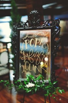 Black & Gold New Year's Eve Wedding Ideas