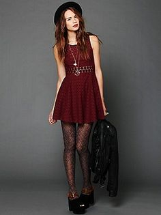 Free People Clothing Boutique > Fitted With Daisies Dress. Loves!