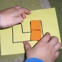 Fill in Block Shapes from The Activity Mom