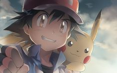 Ash Ketchum and Pikachu ^.^ ♡