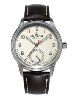 Alpina has released a new version of the Alpiner Manufacture that encases the in-house Alpina automatic movement. The watch, inspired by a Alpiner design, maintains the clean lines and practical elements associated with the active brand. Sport Watches, Watches For Men, Alpina Watches, Automatic Watch, Watches Online, Vintage Watches, Luxury Watches, Product Launch, Stuff To Buy