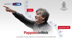 Torna la grande musica di #PappanoInWeb 2015. Il concerto di stasera, è un omaggio al compositore tedescoJohannes #Brahms