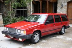 """740 Volvo Turbo Station Wagon.    I remember this car was advertised as """"Till Ferrari Makes a Station Wagon"""""""