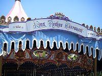 Hop Aboard History on King Arthur Carrousel #disneyland