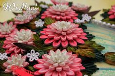 3d  flowers with quilling  Passionately Curious