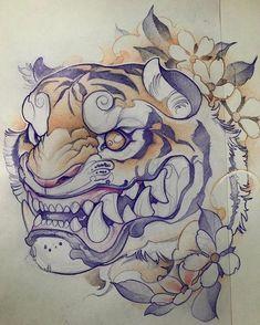 tattoos in japanese prints Japanese Tattoo Art, Japanese Tattoo Designs, Japanese Art, Japanese Prints, Japanese Style, Japan Tattoo Design, Tiger Tattoo Design, Tattoo Sketches, Tattoo Drawings