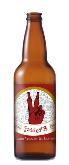 Saideira Beer by Gilberto Audibert Alicio, via Behance