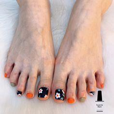 Cute Toe Nails, Super Cute Nails, Cute Acrylic Nails, Diy Nails, Swag Nails, Pretty Nails, Simple Nail Art Designs, Toe Nail Designs, Pedicure Nail Art
