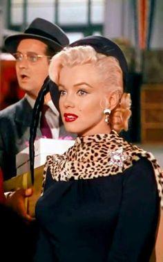 Marilyn Monroe in Gentlemen Prefer Blondes, 1953.