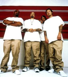 They are Rap-Metal. Cypress Hill is Can't Get The Best of Me, Rock Superstar, Dust' Dickies Clothing, Dickies Pants, Tommy Clothes, Dickie Work Pants, Estilo Cholo, Ropa Hip Hop, Estilo Hip Hop, Rap Metal, Cypress Hill