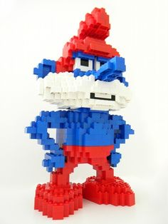 Papa Smurf: A LEGO® creation by David Lee : MOCpages.com