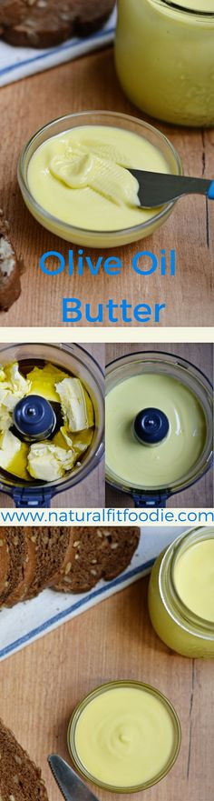 Have you heard? Margarine is out, butter is in. Here is Olive Oil Butter to save the day!