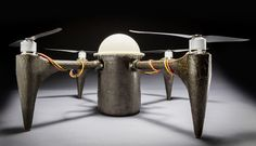 This 3D Printed Drone Can Wait Underwater And Launch From The Sea | Popular Science