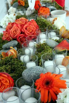 Orange and moss - yummo