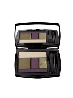 The best khaki-green eye shadows and liners: The rich purples in Lancôme Color Design Palette in Olive Amour might catch your eye first, but we bet it's the versatile gray-green one you'll end up using every day