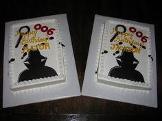 Birthday Cake Center: Secret Agent