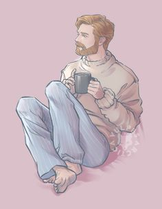 Okay chaps. This is for all the people (and yes, there was more than one) who requested Obi-Wan in an oversized/soft sweater (dog bless you all). I threw in the additional suggestions of PJs and a cup of tea for good measure because I. Starbucks Logo, Starbucks Tumbler, The Sword, Chicago Marathon, Star Wars Clone Wars, Star Trek, Magic Kingdom, Anakin Vs Obi Wan, Starwars