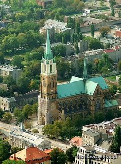 Cathedral in Rokicie Nowe, Lodz, Poland; photo by Mariusz_Kucharczyk, via Flickr.