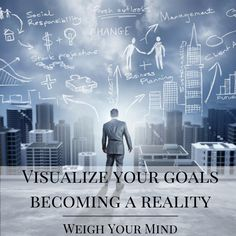 Visualize your goals becoming a reality. #quote #quotes #entrepreneur #smallbiz #smallbusiness #socialmedia