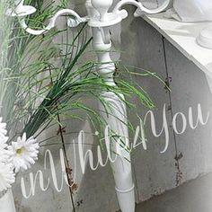 GOLVKANDELABER White 120 cm - Inkommer slutet juni