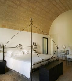 Can you imagine falling asleep and waking up in this beautiful Italian Farmhouse?