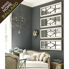 1000 images about mirrors on pinterest mirror mirror for Ballard designs garden district mirrors