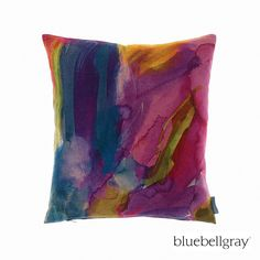 bluebellgray Vinnie Cushion Cover - 45Cmx45Cm(Std) | Over 10,000 Swatches - Drapery, Upholstery, Trims & Wall Coverings | Ideal Drape Makers