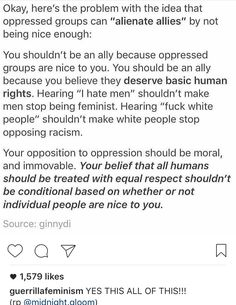 """Yes to all of this. Also I say """"fuck white people"""" sometimes & I am white. I don't really mean it, I just get so frustrated by all the bullshit."""